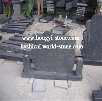 G654芝麻黑墓碑石,G654石材,G654花崗巖
