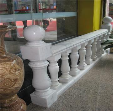 石材楼梯扶手、石线条、石柱