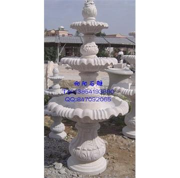 黄锈石喷泉水钵、黄金麻喷泉水钵、五莲红喷泉水钵