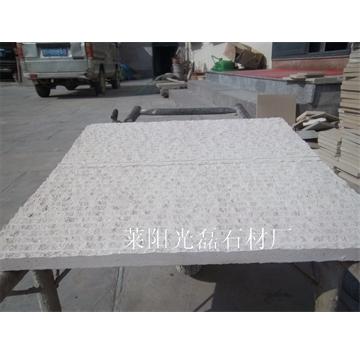 白砂岩自然面条纹板,厂家直销,尺寸及加工方式可定制。