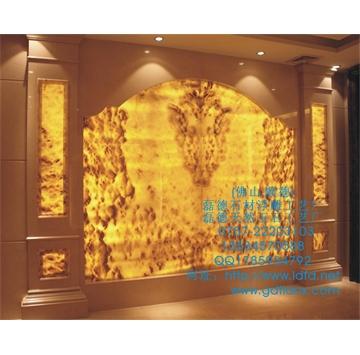天然砂岩背景墙、大理石浮雕