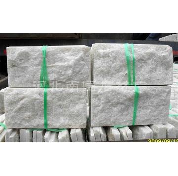 河北天然白色石英蘑菇石文化石