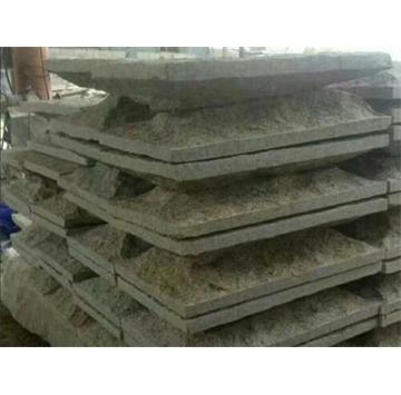黄锈石蘑菇石