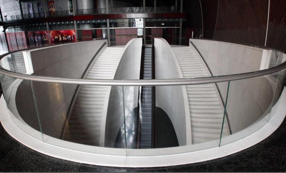 国家大剧院楼梯工程