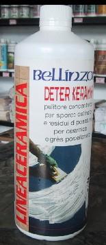 """""""强力擦净剂""""CERAMIC CLEANER""""DETER-KERAMIK""""LT.1   用作消除水泥残余物和在陶瓷和gres瓦片上的顽强污土。   Keramik方程式适用于地板、墙壁和厕所器皿。..."""