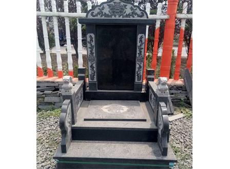 沂蒙黑中国蓝墓碑