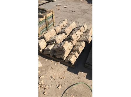 黄木纹砂岩拐角石