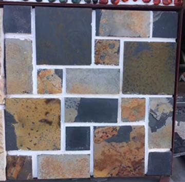 天然板岩大小组合板