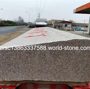 五莲红门牌石景观石